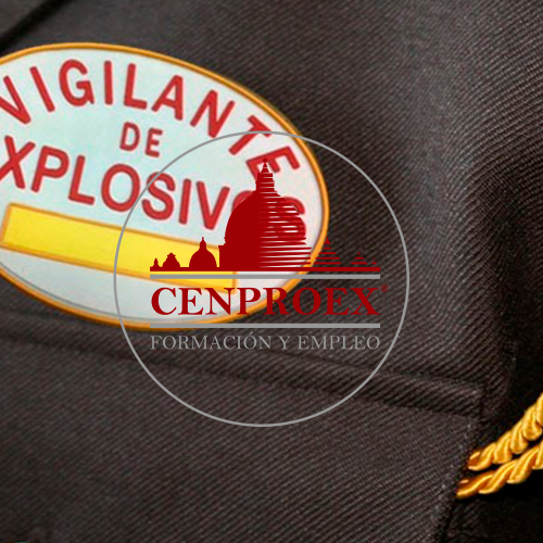 Oferta curso de Vigilante de Explosivos.